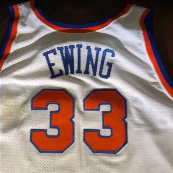 size 40 3c01c a782c Patrick Ewing New York Knicks Jersey size 60